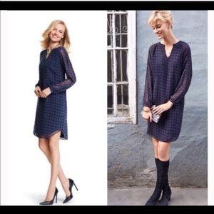 CAbi Navy/Black Dress Size Small